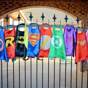 Kids Superhero Capes